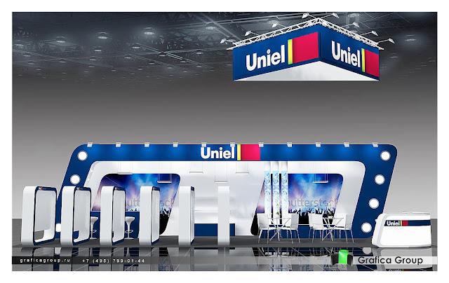 Выставочный стенд для компании «Юниэль»