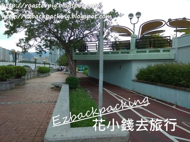 沙田公園單車亭位置