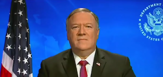 US SECRETARY MIKE POMPEO THANKED PAKISTAN