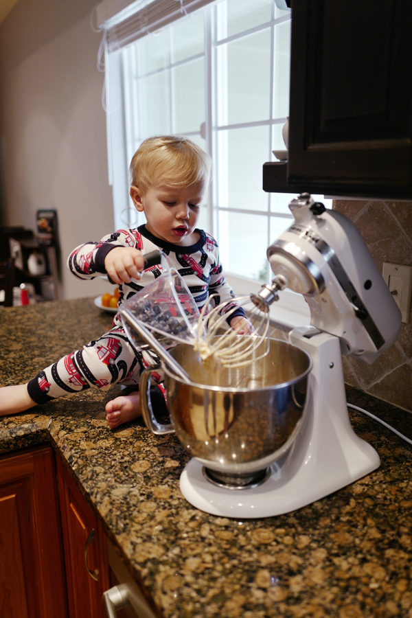 Getting toddlers involved in the kitchen