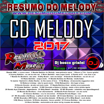 CD MELODY 2017 - WWW.RESUMODOMELODY.COM