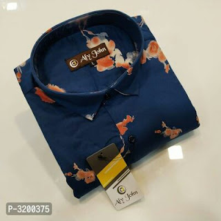 Cotton Printed Shirts For Men