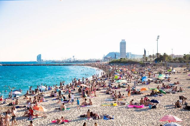 Verão em Barcelona