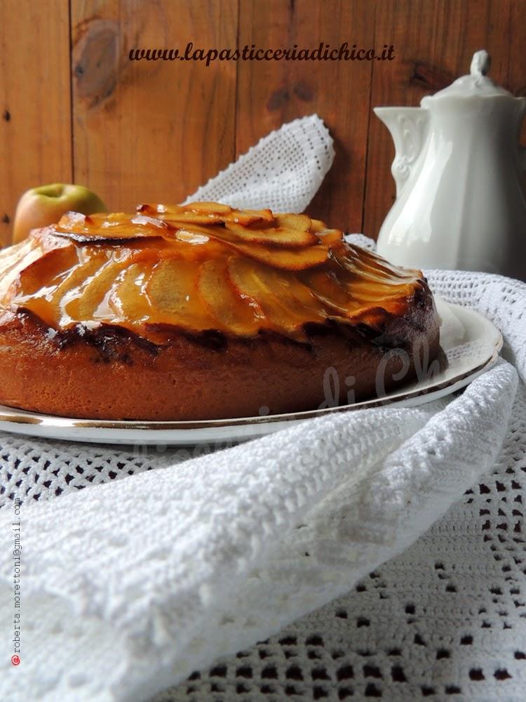 Torta di mele fatta in casa - la pasticceria di chico