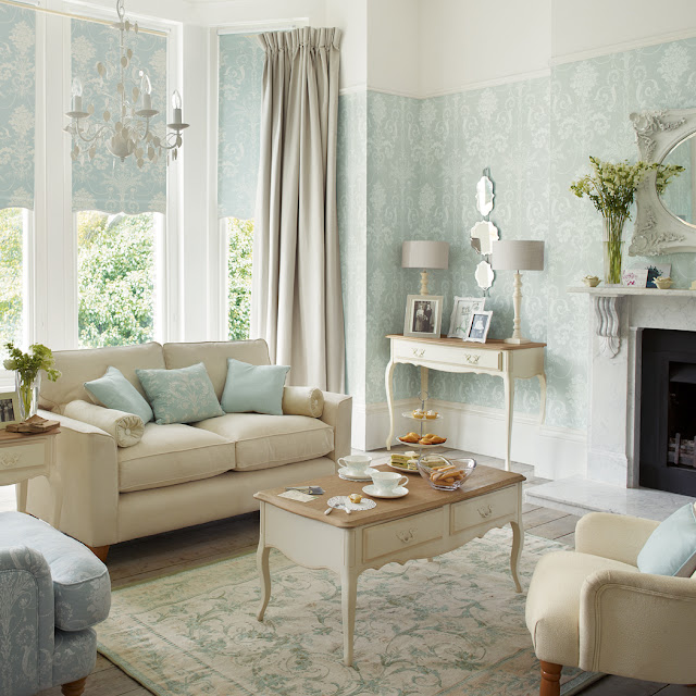 Josette azul verdoso: deas que inspiran - Laura Ashley Decoración
