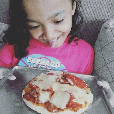bikin pizza itu mudah lho