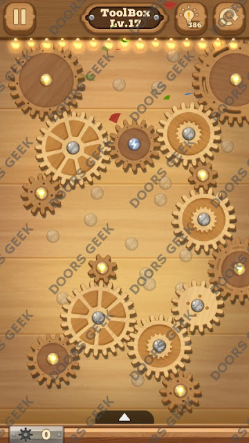 Fix it: Gear Puzzle [ToolBox] Level 17 Solution, Cheats, Walkthrough for Android, iPhone, iPad and iPod