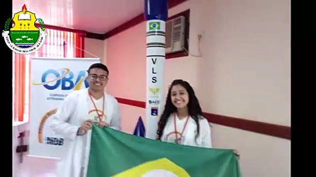Alunos da EEEP Guiomar Belchior Aguiar de Cariré-CE são vice-campeões brasileiros na Mostra Brasileira de Foguetes