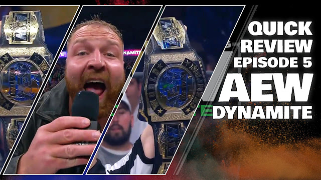 AEW DYNAMITE Episode 5 (10.30.2019) Quick Review • All Elite Wrestling News