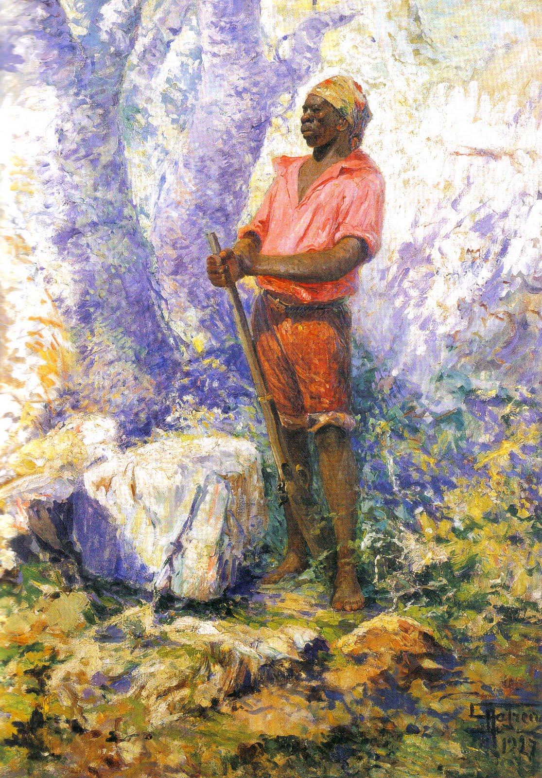 Pinturas de Zumbi dos Palmares ~ Líder da resistência negra