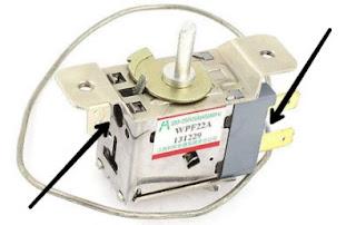 cara kerja bagian Thermostat kulkas