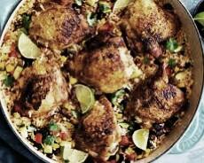 recetas mexicanas con pollo y verduras