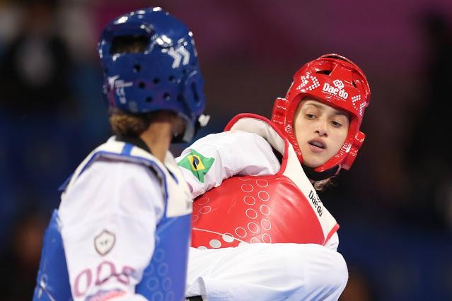 Atleta do taekwondo é candidata ao pódio na Olimpíada