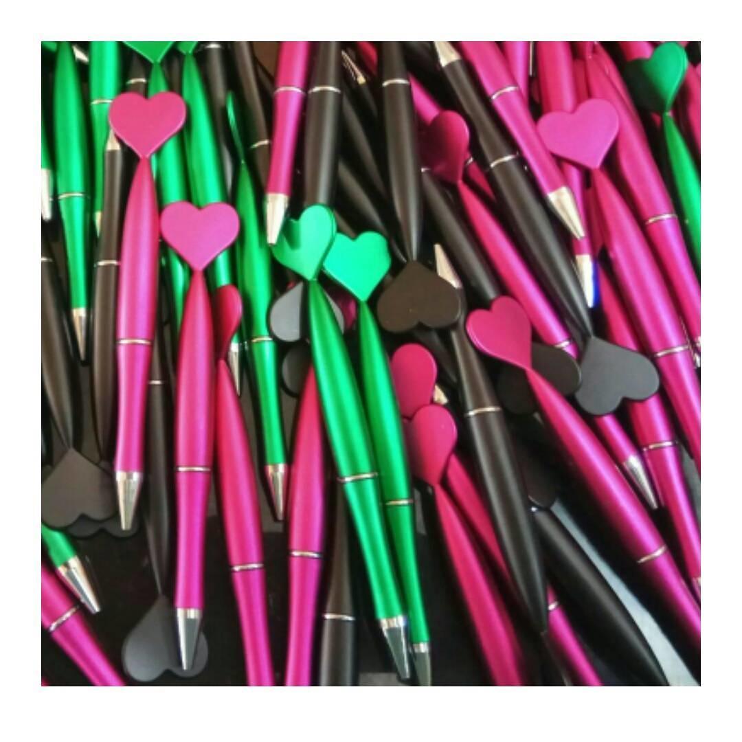 Jual souvenir pulpen love