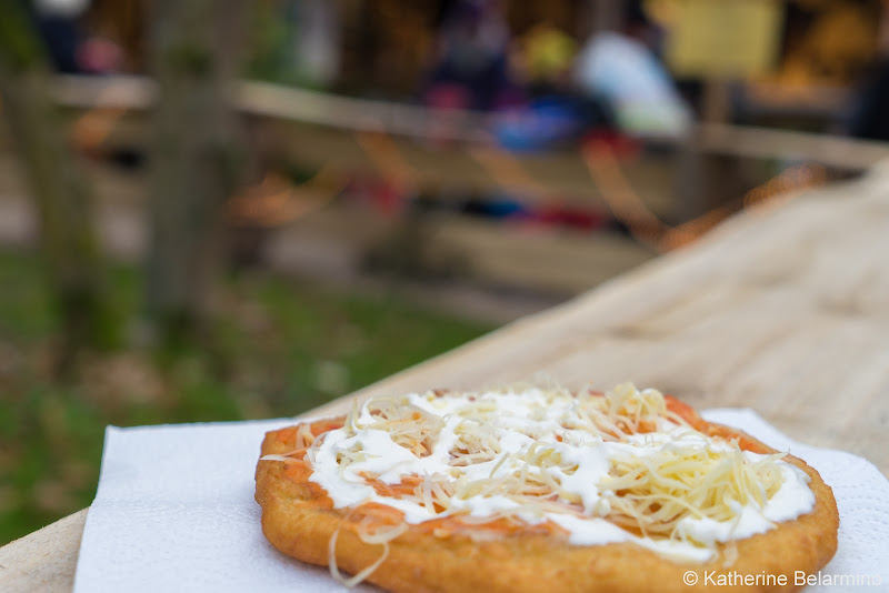Lángos What to Eat and Drink at European Christmas Markets