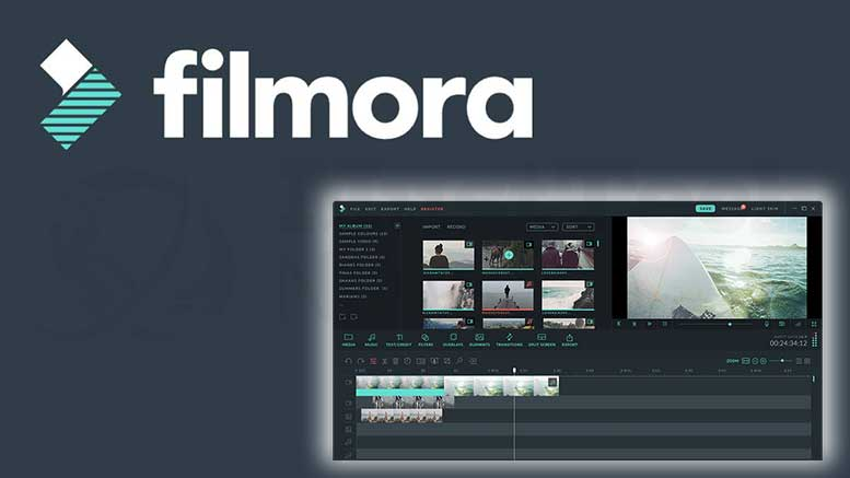 Filmora Screenshot