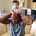 The Rock shows off his new baby as he celebrates US Labor day
