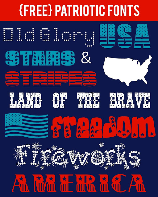Font Friday: Patriotic Fonts