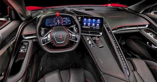 Burlappcar: 2020 Chevrolet Corvette Interior