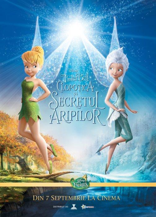 Clopoţica şi Secretul Aripilor  Online Dublat In Romana Zanele Disney