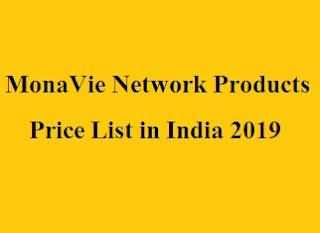 MonaVie Network Products Price List