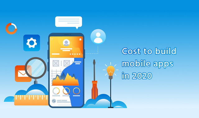 What is the cost of mobile app development in 2020?