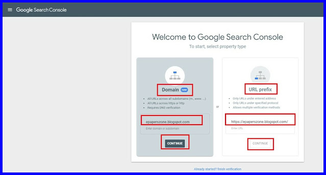 How To Use and Create Search Console For Blogger In Tamil