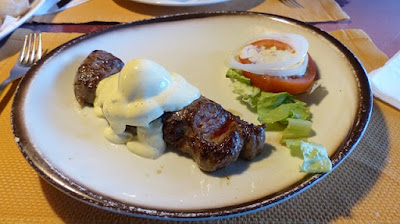 Steak and Egg Breakfast, with Salad