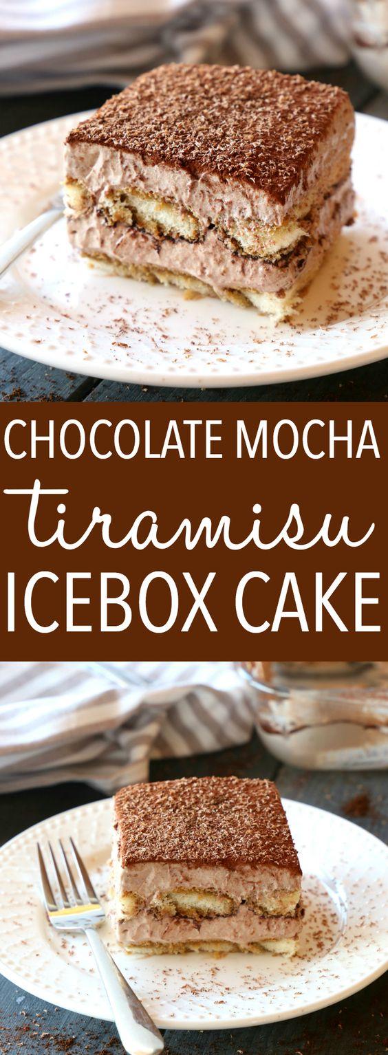 Icebox Tiramisu