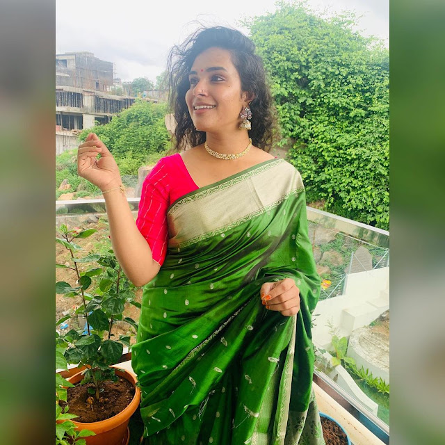 Hari Teja  (Indian Actress) Wiki, Bio, Age, Height, Family, Career, Awards, and Many More