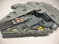 Millennium Falcon (cut-away)