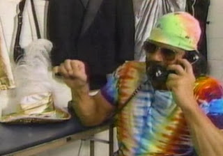 WWF / WWE: Summerslam 1991 -  Randy Savage  on the phone to a fan