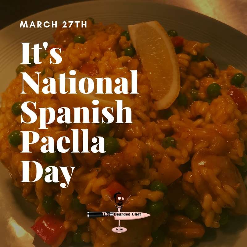National Spanish Paella Day Wishes Unique Image