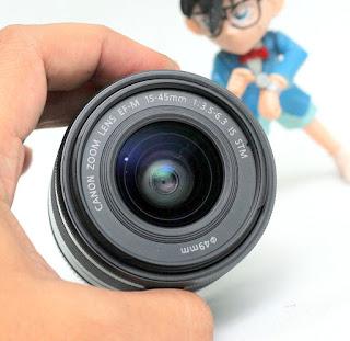 Lensa Kit Canon 15-45 STM Mirrorless Bekas