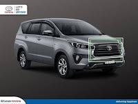 Harga dan Fisik : Grille Depan Toyota Innova Reborn 2021   53100-YP330