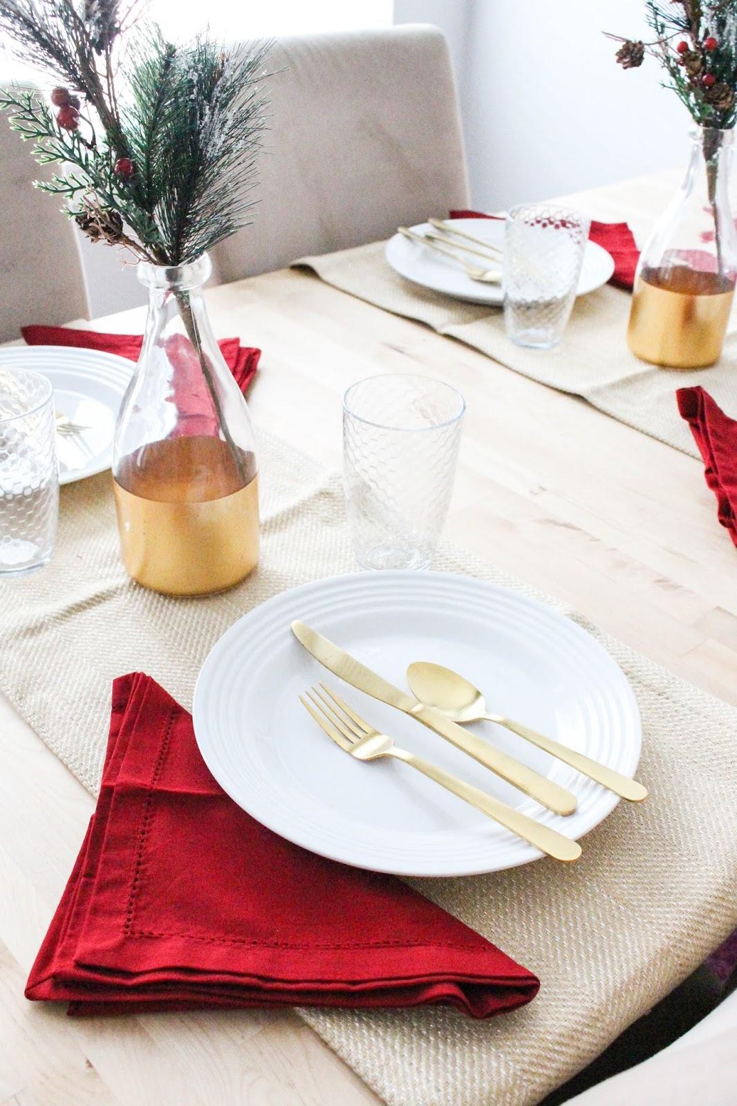 Festive Tablescape & A Recipe...