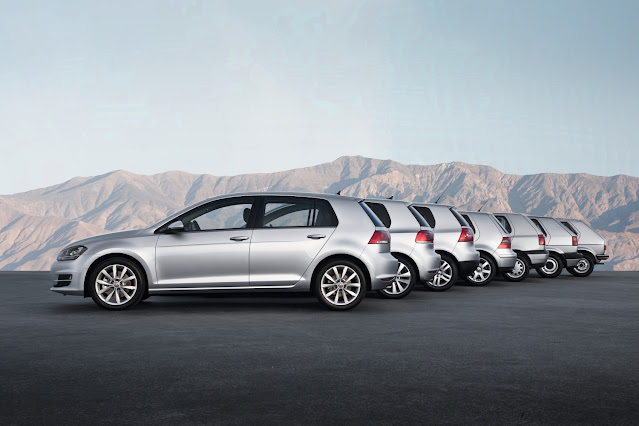 Every Generation of Volkswagen Golfs
