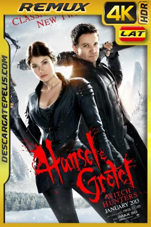Hansel & Gretel: Cazadores de Brujas (2013) 4K BDREMUX HDR Latino – Ingles