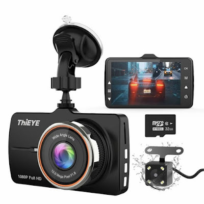 ThiEYE Carbox 5R -1 Dashcam FHD  Front and Rear Car Camera