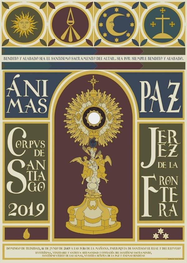 Cartel del Corpus de Santiago de Jerez de la Frontera