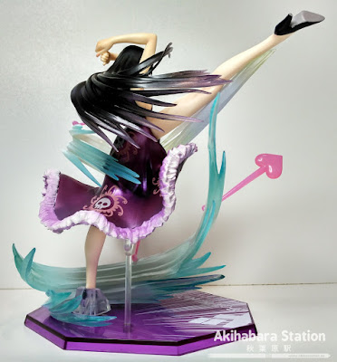 "Review del Figuarts Zero One Piece ""Boa Hancock - Love Hurricane ver. -"" - Tamashii Nations"