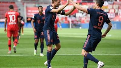 Bayern Munich Taklukkan Bayer Leverkusen 4:2