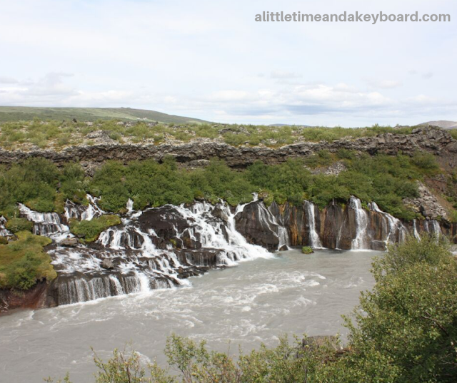 Captivating panoramas unfold from a variety of vantage points at Hraunfossar in West Iceland.
