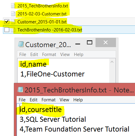 Welcome To TechBrothersIT: How to load Flat files to SQL