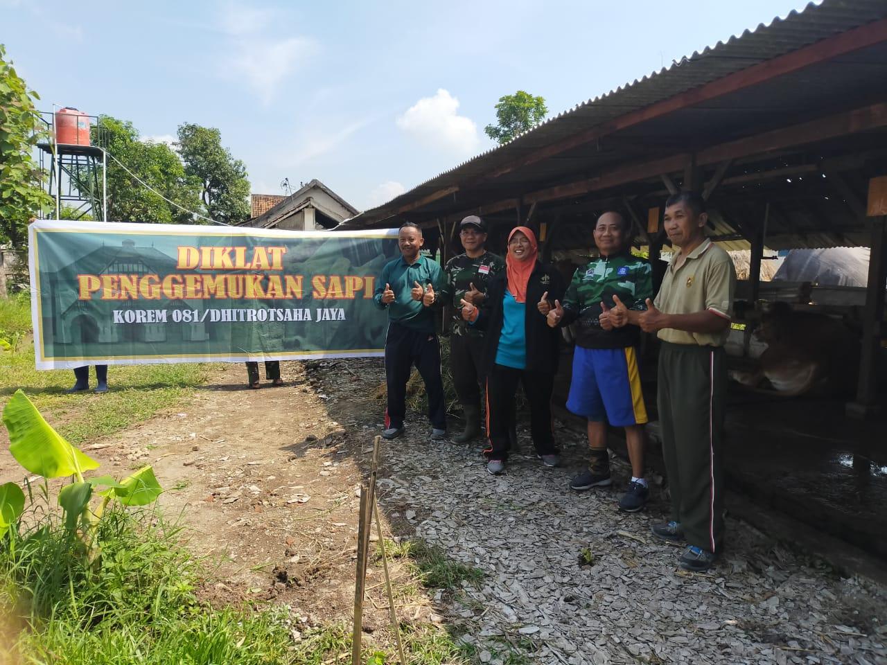 Danrem 081/DSJ Terima Tamu Dari Dinas Pertanian Kota Madiun