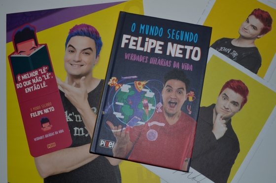 Biigthais: Resenha literária: O mundo segundo Felipe Neto