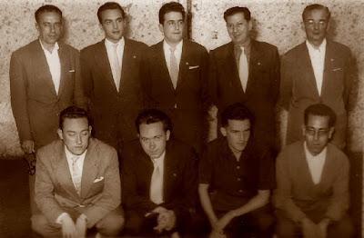 Equipo del Terrassa en el II Campeonato de España en Bilbao 1957