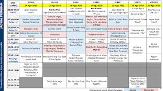 anduan dan Jadwal Belajar Dari Rumah di TVRI Minggu Ke Dua Puluh 24 - 30  Agustus 2020.