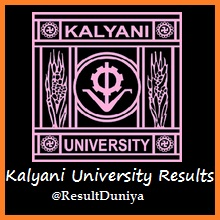 Kalyani University BA BSc BCom 1st 2nd 3rd Year Result 2016