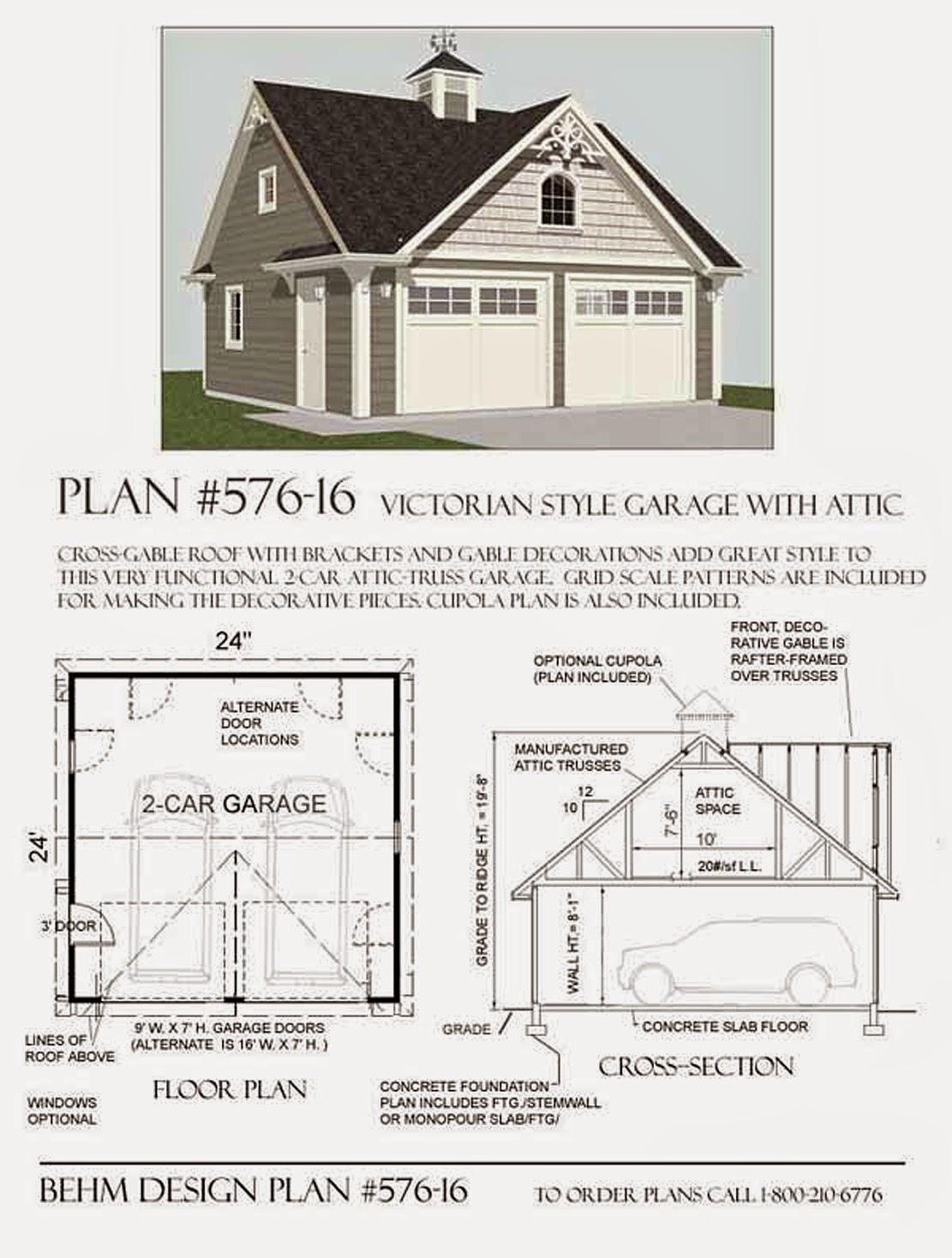 Garage Plans Blog Behm Design Garage Plan Examples Garage Plan – 16X24 Garage Plans